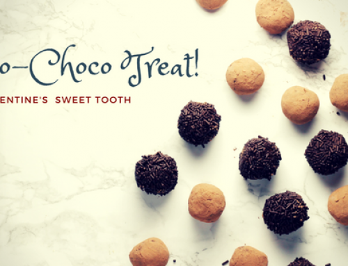 Valentijnsrecepten:  Kokos & chocolade traktatie!