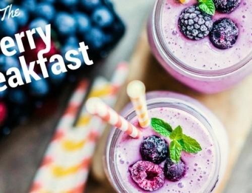 Gezonde bes – smoothie ontbijt