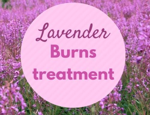 Lavendelolie en eerste hulp bij brandwonden