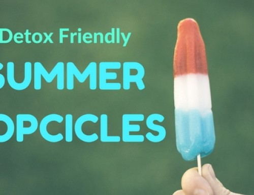 Detox in de zomer met ijslolies
