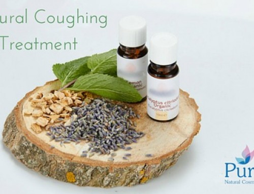 Natural coughing treatment with essential oils