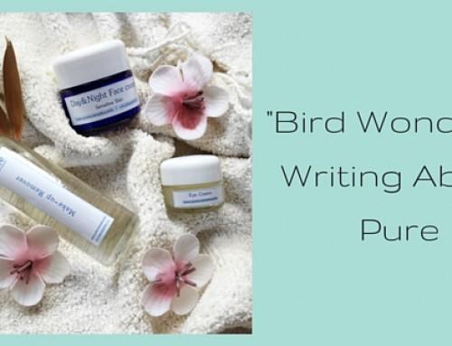 Pure : natuurlijke en pure ingrediënten