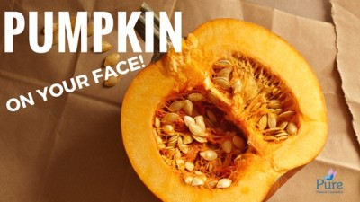 pumpkin on your face