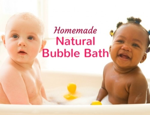 Homemade Natural Bubble Bath