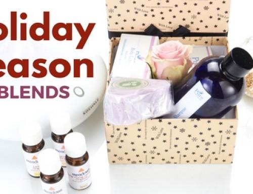 Aromatherapy Holiday Season Blends