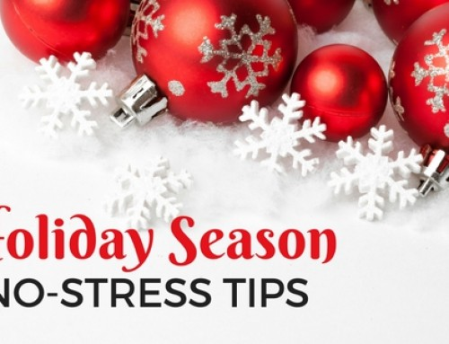 Tips to deal with holiday season stress